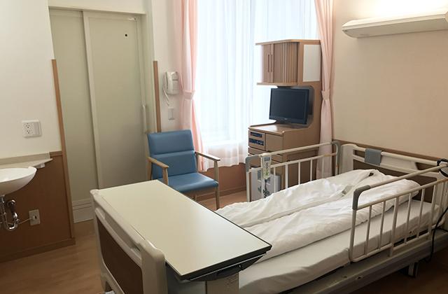 女性病棟(5階西病棟)